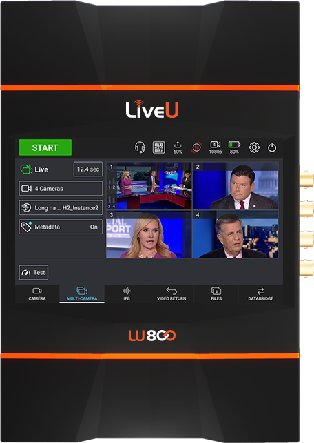 LiveU Soluciones de Streaming